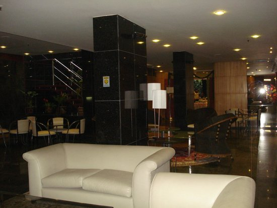 South American Copacabana Hotel: Sala de estar