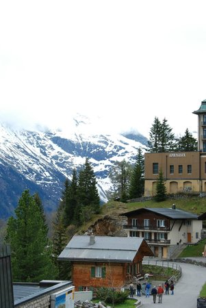 Eiger Guesthouse: View from our 3rd floor room