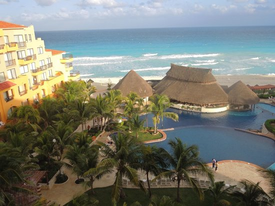 Fiesta Americana Condesa Cancun All Inclusive: view from room