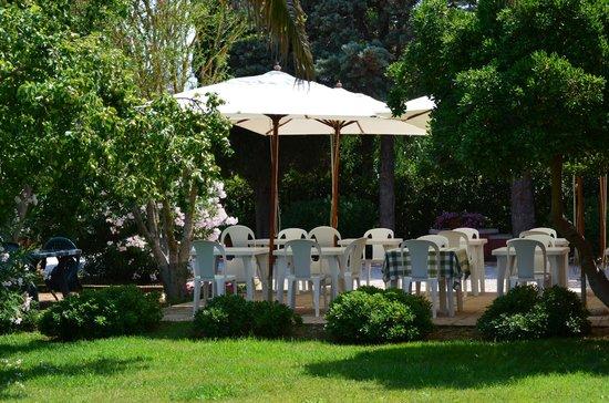 Agriturismo Capalbio Agrialbergo: Zona colazioni
