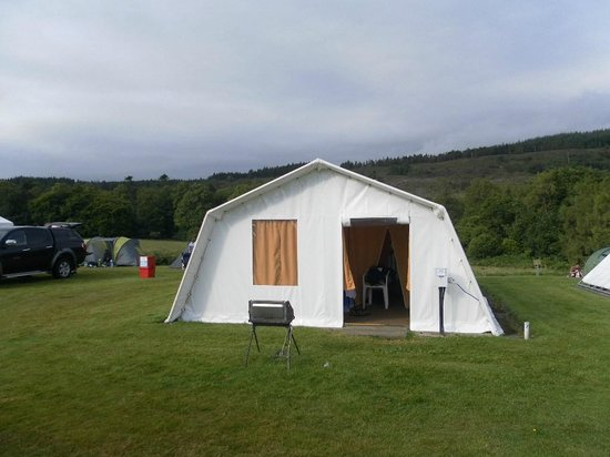 Shieling Holidays: Shielings Holiday Tent