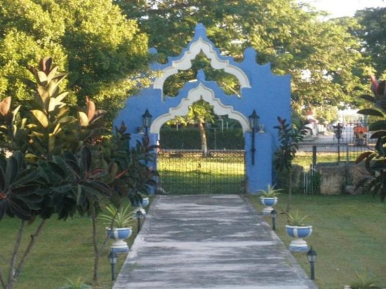 Hacienda San Pedro Nohpat: entry gates
