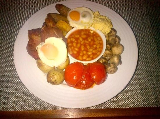 H10 London Waterloo: Terrible english breakfast