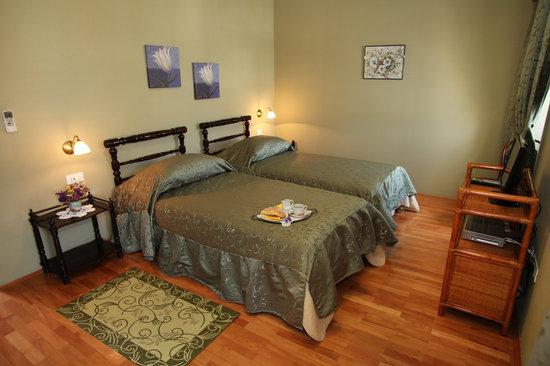 Villa Moretti: twin room