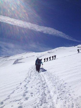 Aguaventura Expediciones Day Tours: the ascent