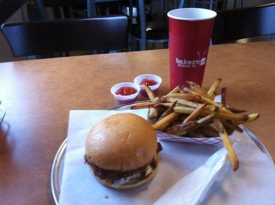 Baker's Burgers: dirty burger