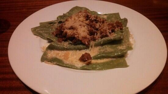 Fiori: deconstructed lasagna-yum!
