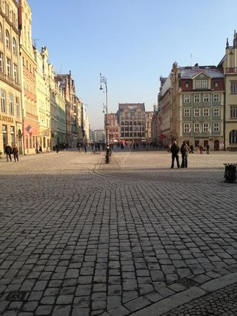 Sofitel Wroclaw Old Town: the square