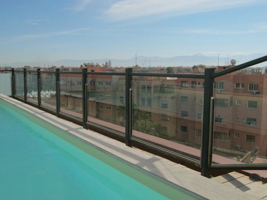 Hotel Almas : Roof top pool
