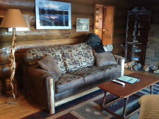 ‪‪Loon Lake Lodge‬: Cozy Couch