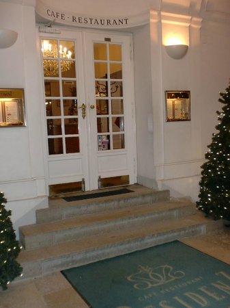 Café Restaurant Residenz: ingresso