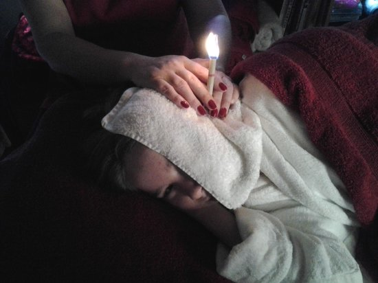Huntingdon Spa: hopi ear candle