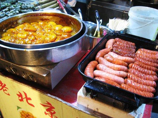 Wangfujing Street: sausage
