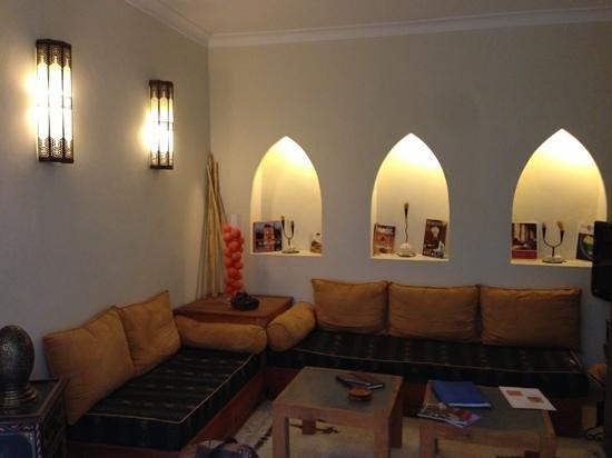 Dar Andamaure: Lounge area