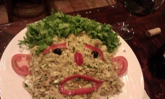 minhoto restaurant: Bacalhau à Brás