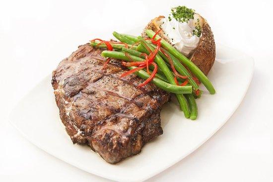 Shilo Restaurant Killeen: Grilled Steak and Potato