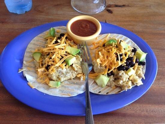 Banana Hamacas : tasty breakfast tacos!