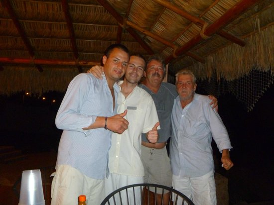 Positano Hotel: David,Jonathan,Steve and Vito