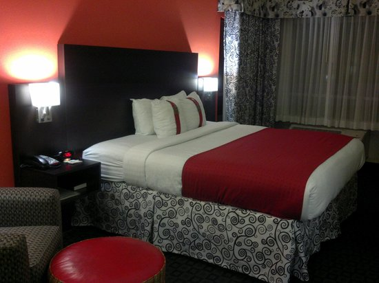 Holiday Inn Garland: Rooms are somewhat small but very nice.