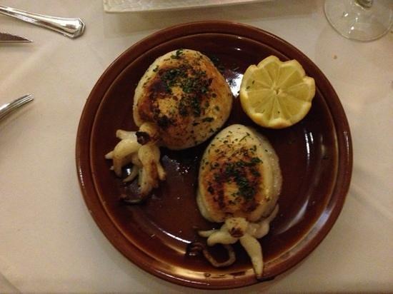 Es Clos Restaurant: gegrilde octopus, super