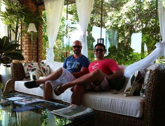 Costa Do Sol Boutique Hotel: Canto do descanso
