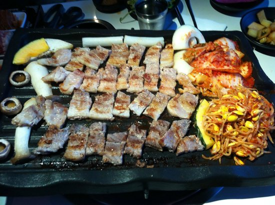 Palsaik Samgyupsal Korean Bbq Los Angeles Restaurant Reviews Amp Photos Tripadvisor