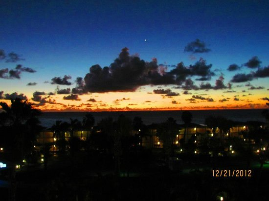 Divi Carina Bay All Inclusive Beach Resort: Sunrise from room