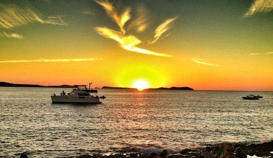 Beautifull Ibiza sunset