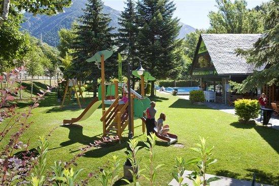 Camping Verneda: Parques