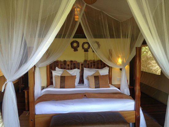 Sarova Mara Game Camp: Our Club Tent