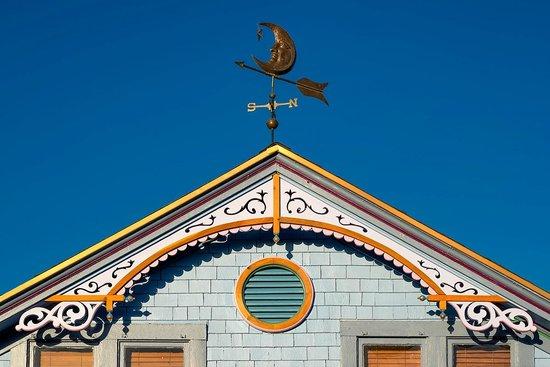 The Big Blue House Tucson Boutique inn: lovingly restored to her 1899 grandure
