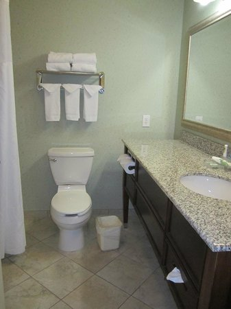 Country Inn & Suites By Carlson, Asheville West (Biltmore Estate): Bathroom