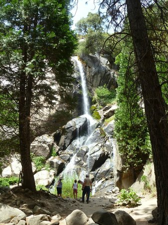 Mineral King Road: Grizzly Falls Picnic Area