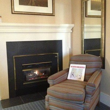 Queen's Landing: The Premium Room fireplace