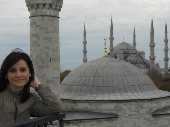 Ambassador Hotel: Blue mosque