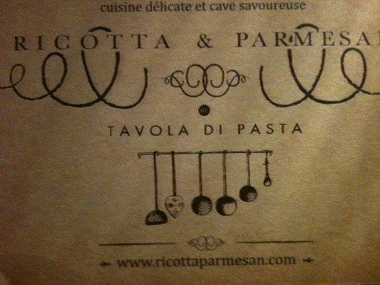Ricotta & Parmesan: Nous reviendrons !