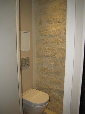 Hotel Atmospheres: very small toilet room