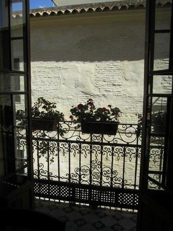 Apartamentos La Casa del Conde de Gelves : little balcony