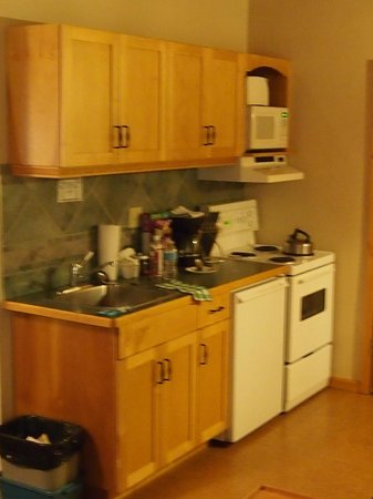 Bear Hill Lodge: kitchenette