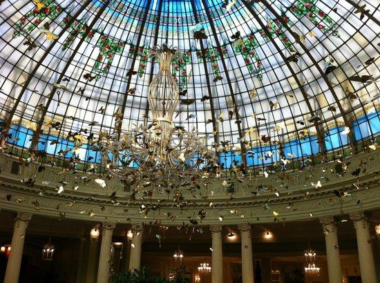 Foto de The Westin Palace Madrid, Madrid: Cupula de ... - photo#27