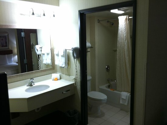La Quinta Inn & Suites Newark - Elkton: Bathroom