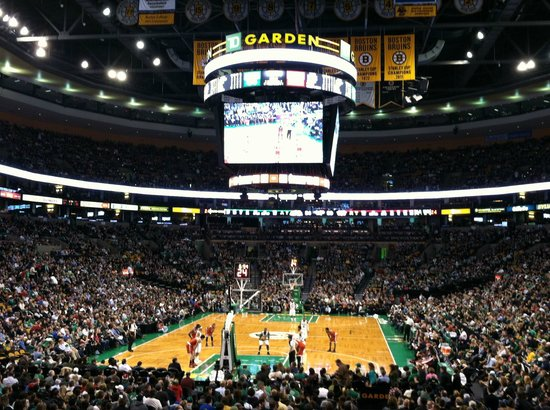 Celtics Picture Of Td Garden Boston Tripadvisor