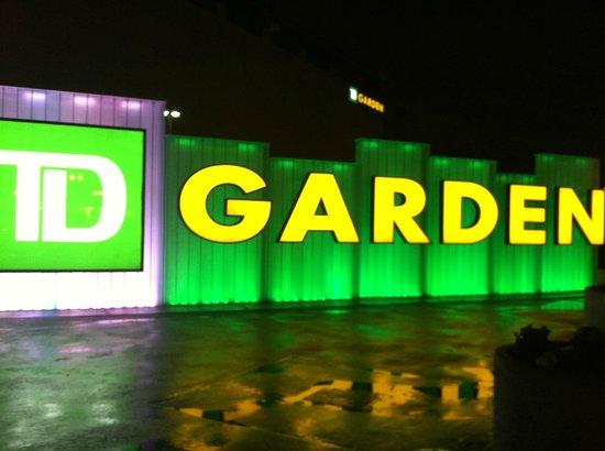 Outside The Garden - Picture of TD Garden, Boston - TripAdvisor