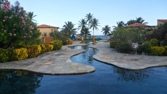 Seascape Villas: view of pool