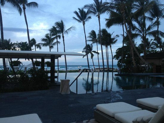 Four Seasons Resort Hualalai: Infiniti Pool (Weastern-most Pool)