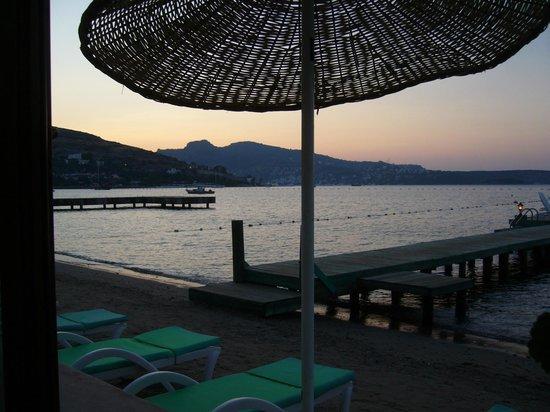 Mandalya Hotel: gün batımı