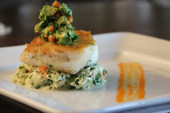 The Summit Restaurant: Chilean Sea Bass