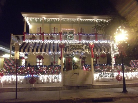 Avalon Bed and Breakfast: Avalon Xmas lights