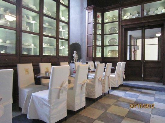 Palazzo Reale: la saletta del Caffè Reale a Torino