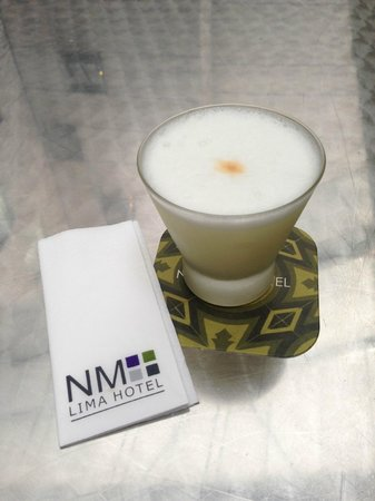 ‪‪NM Lima Hotel‬: Pisco Sour